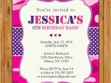 Printable Pink Camo Birthday Invitations Hot Pink and Purple Camo Birthday Invitation Girls