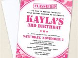Printable Pink Camo Birthday Invitations Pink Camo Party Invitations Professionally Printed