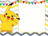 Printable Pokemon Birthday Invitations Free Printable Pokemon Invitation Templates