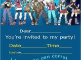 Printable Pokemon Birthday Invitations Pokemon Invitation Printable Free