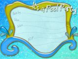Printable Pool Party Invitations Search Results Invitation