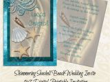 Printable Seashell Wedding Invitations Shimmering Seashell Beach Wedding Invitation Summer Wedding