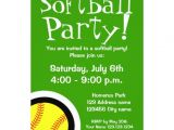 Printable softball Birthday Invitations softball Party Invitations for Birthdays and Bbq