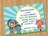 Printable Team Umizoomi Birthday Invitations 49 Best Team Umizoomi Invitations Images On Pinterest