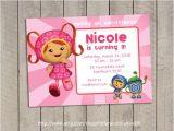 Printable Team Umizoomi Birthday Invitations Items Similar to Team Umizoomi Invitation Team Umizoomi
