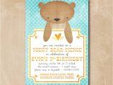 Printable Teddy Bear Baby Shower Invitations Design Teddy Bear Baby Shower Invitations