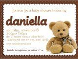 Printable Teddy Bear Baby Shower Invitations Teddy Bear Baby Shower Invitation Boy Girl Gender Neutral
