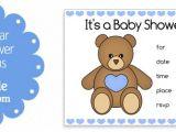 Printable Teddy Bear Baby Shower Invitations Teddy Bear Baby Shower Invitations – Gangcraft