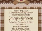 Printable Teddy Bear Baby Shower Invitations Teddy Bear Invitation Personalized Custom Teddy Bear