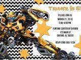 Printable Transformer Birthday Invitations Digital Printable Transformers Invitation
