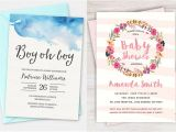 Printed Baby Shower Invitations Cheap 100 Stunning Printable Baby Shower Invitations