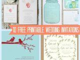 Printing Wedding Invitations at Home Print at Home Wedding Invitations Template Best Template