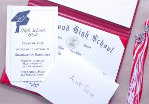 Proper Way to Address Graduation Invitations How to Put together Graduation Announcements Synonym