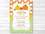 Pumpkin Baby Shower Invitations Etsy Pumpkin Baby Shower Invitation Pumpkin Baby Shower Invite