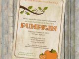 Pumpkin Baby Shower Invitations Etsy Pumpkin Baby Shower Invitations Baby by Freshlysqueezedcards