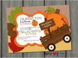 Pumpkin Patch Party Invitations Pumpkin Birthday Invitation Pumpkin Patch by