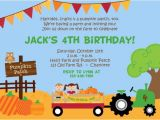 Pumpkin Patch Party Invitations Pumpkin Patch Birthday Party Invitation Farm by
