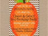 Pumpkin Patch Party Invitations Pumpkin Patch Birthday Party Invitations Cimvitation