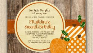 Pumpkin Patch Party Invitations Pumpkin Patch Birthday Party Invitations Printable by