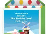 Punchbowl Birthday Invitations 1st Birthday Invitations