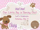 Puppy Birthday Party Invites Dog Birthday Party Invitations Puppy Dog Party Invites 1st