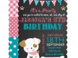 Puppy Dog Party Invites Puppy Party Invitation Puppy Paw Ty Birthday Zazzle