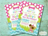 Puppy Party Invites Puppy Birthday Party Invitation Dog Birthday Party