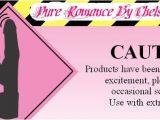 Pure Romance Party Invitation Template Pure Romance Invitations