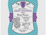 Purple and Gray Baby Shower Invitations Baby Shower Invitation Unique Purple and Gray Baby Shower