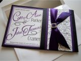 Purple Silver and Black Wedding Invitations Purple and Black Wedding Invitations is the Fresh Ideas Of