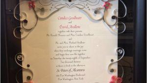 Quilled Wedding Invitation Keepsake Keepsake Quilled Wedding Invitation by Jgacreations On Etsy