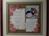 Quilled Wedding Invitation Keepsake Quilled Wedding Photo and Invitation Keepsake Gallery