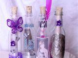 Quinceanera Bottle Invitations 100 Quinceanera Wedding Plastic Bottle Party Invitations