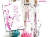 Quinceanera Bottle Invitations Bottle Sweet 15 Invitations Kit