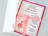 Quinceanera Invitation Kits Quinceanera Bordered Invitations