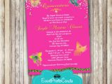 Quinceanera Invitations butterfly theme butterfly Quince Invitation Sweet 15