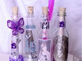 Quinceanera Invitations In A Bottle 100 Quinceanera Wedding Plastic Bottle Party Invitations