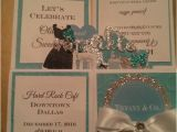Quinceanera Invitations In A Box 10 3d Card In A Box Tiffany Sweet 16 Quinceanera Birthday