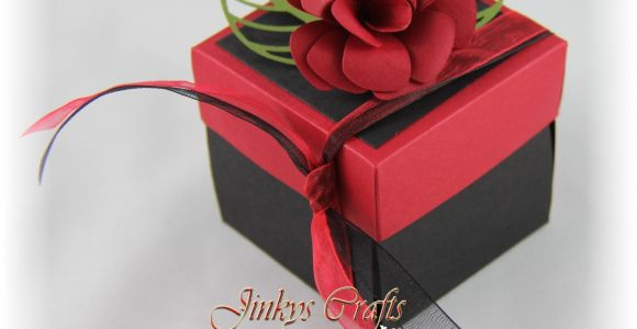 Quinceanera Invitations In A Box Jinky 39 S Crafts Designs Quinceanera Exploding Invitation Box