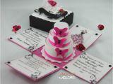 Quinceanera Invitations In A Box New Exploding Box Invitations Designs Jinkys Crafts