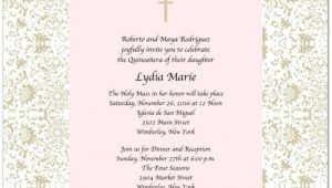 Quinceanera Invitations Templates In Spanish Quinceanera Invitations Wording In Spanish Template Best