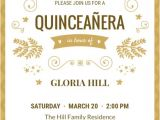 Quinceanera Invitations Wording Samples Sample Invitation for Quinceaneras Choice Image