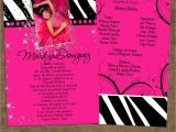 Quinceanera Picture Invitations Pin Quinceanera Invitations Wording Samples English and