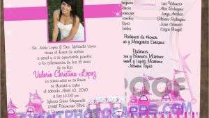 Quinceanera Picture Invitations Princess Beautiful Quinceanera Sweet 16 Invitations
