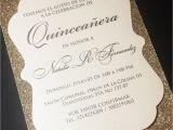 Quinceanera Picture Invitations Quinceanera Invitation Sweet 16 Invitation Glitter