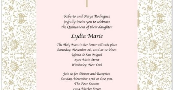 Quinceanera Quotes In Spanish for Invitations Quinceanera Invitations Wording In Spanish Template Best