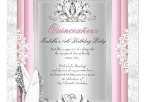 Quinceaneras Invitations Cards Quinceanera 15th Birthday Party Light Pink Shoes Card Zazzle