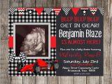 Race Car Baby Shower Invitations Digital Race Car Baby Shower Invitation Race Car Baby