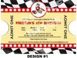 Race Car Party Invitation Templates 40th Birthday Ideas Free Race Car Birthday Invitation