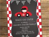 Race Car Party Invitation Templates Birthday Invitation Templates Race Car Birthday